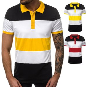 Hot Sale Autumn and Winter 2020 New Casual Men's Short Sleeve Polo Shirt
