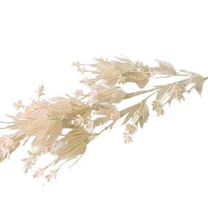 Fiore artificiale matrimonio home decor perla erba natura tipo tipo nero colore jungle tema accessori in plastica