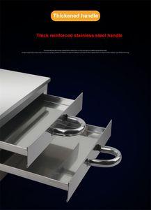 FreeShippingHousehold 2 capa de acero inoxidable de fideos de arroz cocido al vapor rollo bollo al vapor Máquina fideos rollo de vapor para hornos estufas eléctricas /