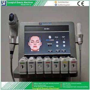 L'alta qualità di bellezza Salon Equipment 5D Hifu V Max Macchina per anti-rughe ringiovanimento della pelle Facelift eliminare le cellule grasso testardo