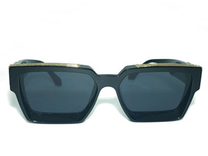 Óculos de sol milionários para homens mulheres quadro completo vintage 96006 1.1 Óculos de sol para unisex brilhante ouro venda quente banhado a ouro de qualidade superior 96006