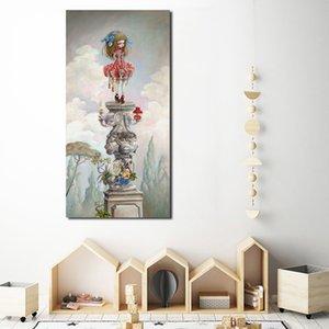 Mark Ryden Surrealism Canvas Painting Print Living Room Home Decor Modern Wall Art Oil Painting Poster Salon Poster Framework HD
