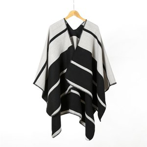 Fashion-Wholesolds New Arrival Folk Custom Womens Shawl Ladies Shawl Geometric Print Keep Warm Cashmere-like Scarf Shawl 20121408XL