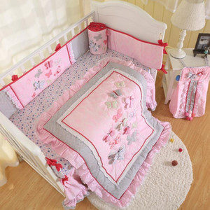 Babies age group and 100% cotton material baby bedding set