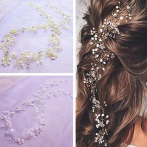 Зажимы для волос Barnettes невеста аксессуары ручной работы хрустальные жемчужные повязки пояс свадебные головные уборы свадебные украшения