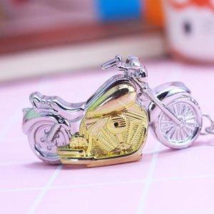 Key Chain flip Chaoyada marca degli uomini studenti Moto quarzo della lega delle vigilanze di tasca Maschio Supe personalità Art Clock prodotto
