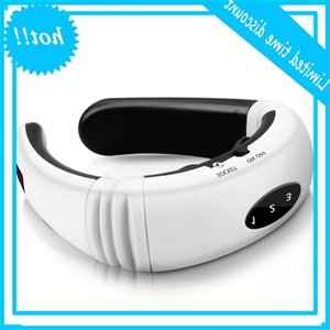 Electric Neck Massage Pulse Back 6 Modi Power Ver Infrared Heating Pain Control Tool Health Care Relaxation Machine