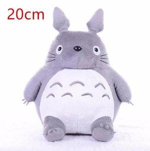 حار TOTORO لينة محشوة الحيوان وسادة جارتي Totoro القطيفة دمية لعبة وسادة للطفل الطفل عيد ميلاد هدايا عيد الميلاد 6 8 20CM qylmSZ allguy