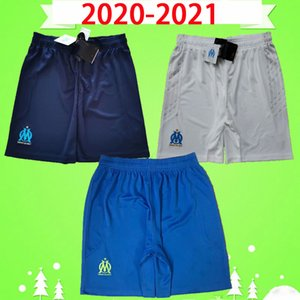 Adults mens 20 21 Olympique De Marseille soccer shorts blue 2020 2021 KAMARA maillot de foot BENEDETTO PAYET THAUVIN GUSTAVO football pants