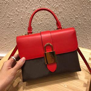 Mini pochette de designer ladies wallets locky genuine leather lock womens crossbody shoulder bag coin key pouch purse sac a main femme bags