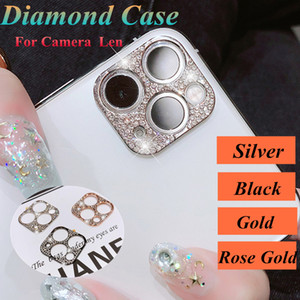 Diamond Glitter Camera Lens film Protector Case For iphone 12 Pro max 11 Pro Full Lens Screen Protective Cover