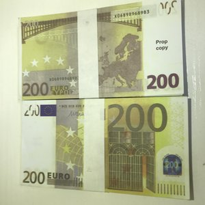 Prop New Sawei Atmosphere Euro Billet Stage Counterfeit LE200-27 Party Money Faux 200 Bar Irwux