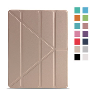 Case For Apple iPad 2 3 4 Silicone PU Leather Case For ipad 4 Funda Magnetic Auto Wake Up Sleep Smart Cover For iPad 2 Case
