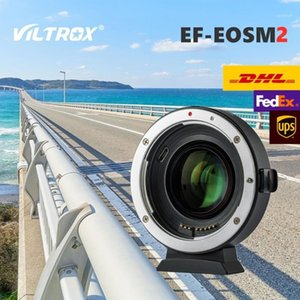Viltrox EF-EOS M2 AF Auto-focus EXIF 0.71X Reduce Speed Lens Adapter Turbo for EF lens to EOS M5 M6 M50 Camera1