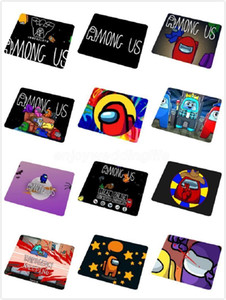 20 styles Hot Sales Among Us Unique Desktop Pad Game Mousepad Top Selling Wholesale Gaming Pad mouse 20x24cm FY4388