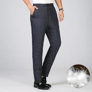 Erkek Pantolon Icpans Erkek Sıcak Kış Için Sıcak Erkek Su Geçirmez Kalın Ördek Aşağı Erkekler Soğuk Geçirmez Pantolon Jogger Artı Boyutu XXXL 4XL