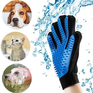 Grooming Glove Hair Remover Brush Gentle Deshedding Efficient Mitt Pet Massage Gloves