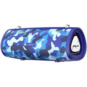 HiFi Altavoz portátil Bluetooth Subwoofer Boombox Altavoz inalámbrico + Soporte de la correa para el hombro TWS, TF, unidad flash USB de alta calidad Moda