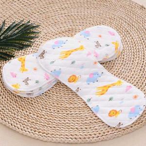 1Pack Baby Tuch Windeln wiederverwendbare Hautfreundliche Baby-Printed Peanut Windel Tragbarer zusammenklappbarer Kinderpflege-Produkt H7Lk #