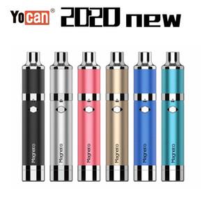 100% Original Yocan Loaded Evolve Plus XL iShred Magneto Pandon Torch Dry Herb Wax Vaporizer Kits 1100 1300 2600mAh Battery Vape Pen