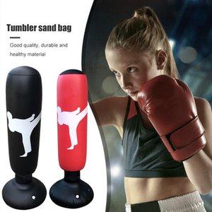 Fitness gonflable sac de boxe sac de sandbag enfant gymnastique pression pression stress soulagement jouet fitness boxe entraînement formation sac de sable
