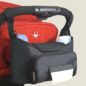 Baby Stroller Organizer Carrying Bag For Mom Pushchair Umbrella Car pram Accessories Toys Storage Crib Organizer Diaper Pocket 201026