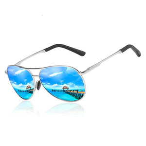 Designer Pilot Sunglasses Men Polarized Driving Fishing Sun Glasses for Male Eyewear UV400 Gafas De Sol Hombre