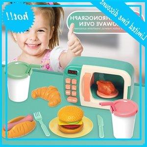 Çocuk Magnetron Fırın Erkek Ve Kız Pleasant Ayna Ev Pişirme Simülasyon Mutfak Oyuncaklar Elektris olmadan Set