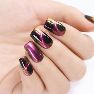 BORN PRETTY 3D Magnetic Nail Polish Auroras Nails Glittering Magnet Nail Art Vernice per Nail Design