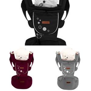 Bebek Taşıyıcı Ergonomik Sling Ön Sarılma Bel Dışkı Tutma Kemer Porte Bebe Kanguru Hip Seat Dört Mevsim için Çok Yönlü J1215