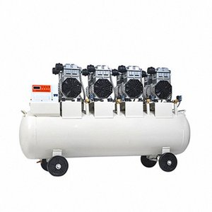 1PC Large Air Pump Compressor Oil-free Silent Air Compressor Dental Laboratory Auto Repair Pump Machine 220 380V 68fq#