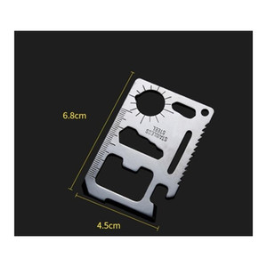 Multifunction Credit Card Knife For Outdoor Camping Survival Double Saw Sos Pocket Army Kn jllXts sport777