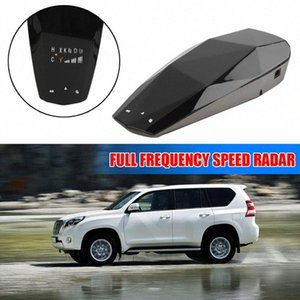 Newest Car LED Display English Russian Voice Full Frequency Speed High Sensing Radar Speed Warning Alarm Systems peT9#