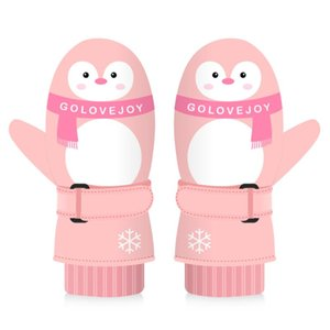 Children Winter Warm Gloves Kids Skiing Gloves Windproof Snow Glove Waterproof For Skiing Cycling Climbing