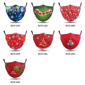 Hot sale Mask PM2.5 Adults Christmas Halloween comfortable The stars shine cotton cloth Dustproof 3D Printing Washable Dust Masks