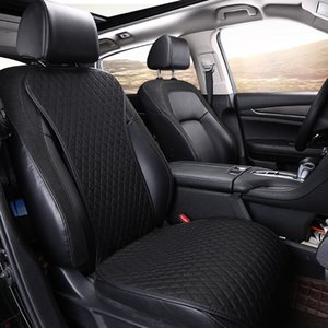 Brand new Linen Car Seat Cover Front Rear Flax Cushion Breathable Protector non slide Auto accessories Universal Size E4 X36