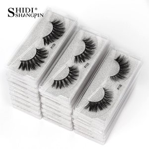 SHIDISHANGPIN Mink Lashes Wholesale Eyelashes Mink faux cils False Eyelashes Packaging Box Bulk Eye Lashes for Eyes Lifting