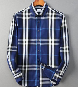 NIGRITY 21 Spring Men's Fashion Classic Comfortable Casual Long Sleeve Business Shirt Man Formal Shirt Plus Size M-Size @@31