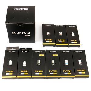 VOOPOO PNP cabeça bobina vape substituição núcleo PnP-VM1 0,3 PnP VM4 R1 0.8ohm Cabeça de Reposição para arrastar S Argus RX Air Vinci R X Vape Kit