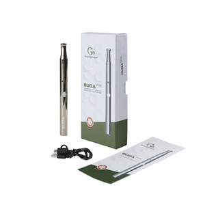 G9 Buda Cire Vape Stylo Tension réglable 350 Mah 510 Slim Battery Dab Atomizer DAB avec Build in Dabber Tool