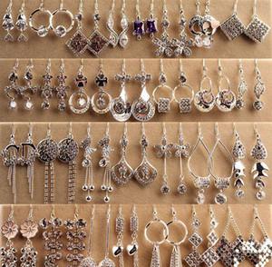 Top Quality Fashion Hypoallergenic Earrings Silver Boxed Long Earrings Korean Jewelry Diamond Ear sqcOFe new_dhbest