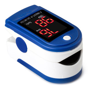 Fingertip Pulse Oximeter Portable Protective Oxygen Oximeter Diagnostic Monitor Tool
