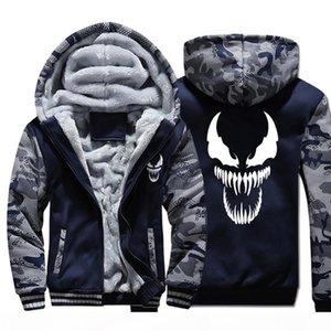 Dopshipping Hoodies Men Movie Night Glow Hooded Sweatshirts Harajuku Coat Winter Thick Fleece Jacket USA Size