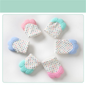 Baby Teethers Toy Multi Colors Anti Bite Molar Dog Footprint Pattern Silicone Vocal Gloves Design Molars Toys Keep Babies Safe 4 6mb L2