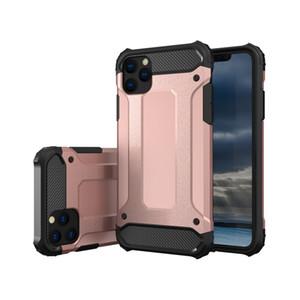 Heavy Duty TPU PC Armor Case para iPhone 12 Pro Max SE 11 Pro Max X XS Max 7 8 6 mais 2 em 1 caso para Samsung