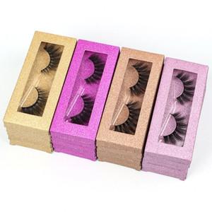 New 3D Eyelashes Fake Lashes In Bulk Fluffy Lashes Natural Faux Mink Eyelashes Wholesale False Eyelash For Make Up