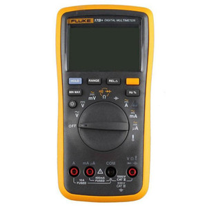 2021 Fluke 17B Auto Range Digital Probe Multimeter Meter Temperature & Frequency DE shipping