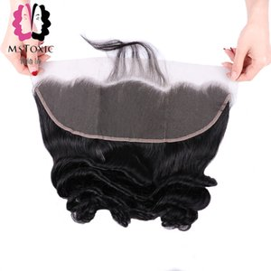 Mstoxic Loose Wave Bundles With Frontal Closure Lace Frontal With Bundles Remy Brazilian Human Hair Bundles With Closure