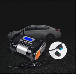 Multi-functional vehicle air pump, portable car tire pump, 2.4 inch digital display large screen high-power electric air pump