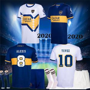 2020 2021 homens Boca Juniors Futebol Jersey Home Away Boca Juniors Gago Osvaldo Carlitos Perez de Rossi Tevez Pavon Jrs